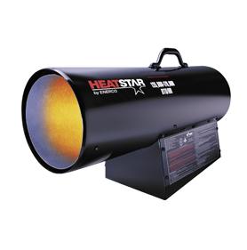 heatstar master forced air propane heater
