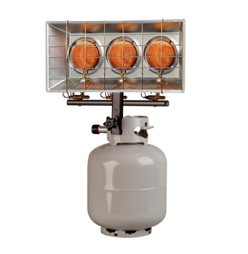 mr. heater, heatstar, tank top infrared radiant propane heater